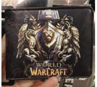 """Кошелек Warcraft фракция """"ALLIANCE"""" World of Warcraft Blizzard игры!"""