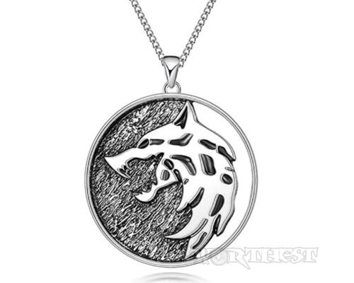 Медальон Ведьмака Геральта из сериала от Нетфликс The Witcher Netflix