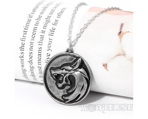 Медальон Ведьмака из Netflix сериал The Witcher 3 кулон геральта